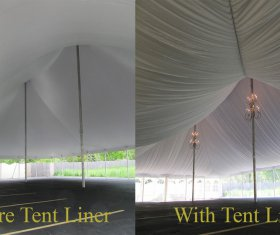 Tent Before and After withTent Liner