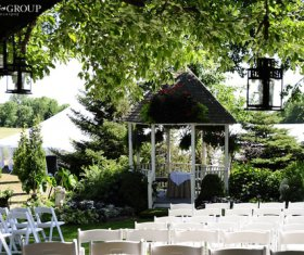 Wedding Gazebo Setup