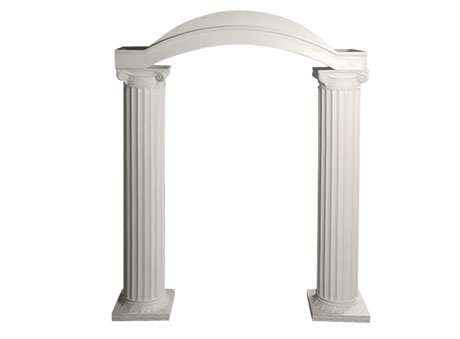 Curved Grecian Arch for Rent