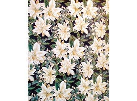 Ivory/Gold Poinsettia