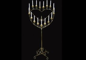 Free Standing Candelabras