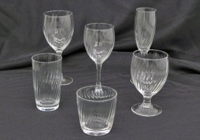 Excalibur Optic Glassware