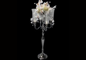 "41"" Four Candle Candelabra"