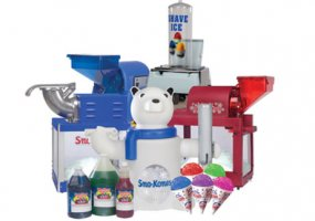 Sno-Kone Supplies
