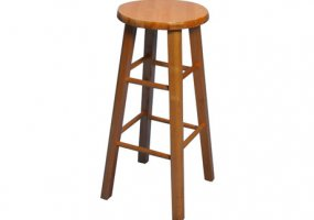 "29"" Tall Maple Bar Stool"