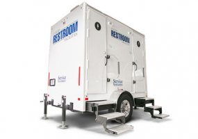 Restroom Trailer – 2 Stall